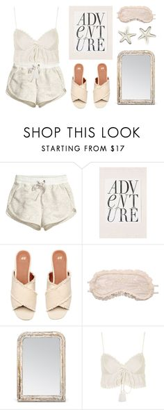 """stay at home"" by regnlee ❤ liked on Polyvore featuring H&M, Urban Outfitters, Made Goods and Topshop"