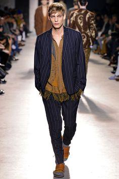 Dries Van Noten Fall 2013 Menswear Fashion Show