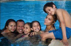 Jennifer Lopez and Alex Rodriguez enjoy pool day with their kids  Jennifer Lopez and Alex Rodriguez enjoyed a pool day with their kids over the weekend.  #WorldofDance #SharkTank #JennaDewan #JenniferLopez #ChanningTatum #MarcAnthony #AlexRodriguez @WorldofDance