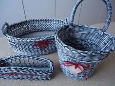 Motaska - pletení z papíru