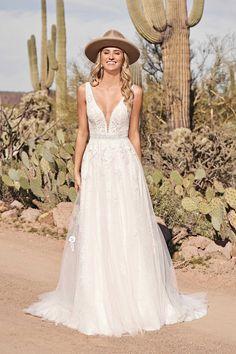 Allure Bridal, Blush Bridal, Bridal Gowns, Dream Wedding Dresses, Designer Wedding Dresses, Boho Vintage, Vintage Boho Wedding Dress, A Line Gown, Bridal Boutique