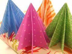 Sapin origami   La cabane à idées