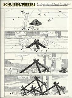 La fièvre d'Urbicande (1985) by François Schuiten and Benoît Peeters