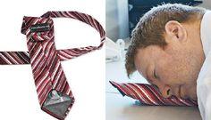 Ofisteki ufak uyku kaçamakları için mükemmel çözüm: Şişme kravat