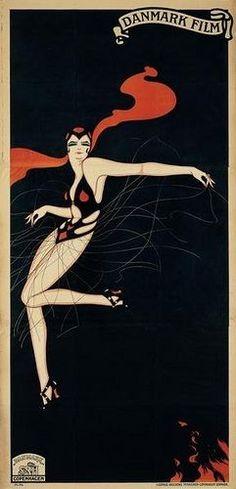 Movie poster by Sven Brasch                    Dans  Dyd og     Pinterest