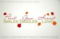 Smiles, Giggles, Love wall decal $15.00 USD