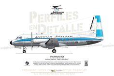 """Hawker Siddeley Avro HS-748 Srs. 1-105 c/n 1539 (3)-LV-HGW  Aerolíneas Argentinas """"Ciudad de Bahía Blanca"""""""