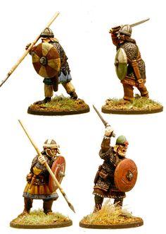SAX04 Saxon Thegns (4)