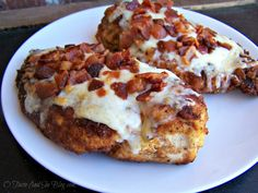 PARMESAN CRUSTED CHICKEN WITH BACON *Broiler, skillet, and rack in baking pan. http://otasteandseeblog.com/parmesan-crusted-chicken-with-bacon/