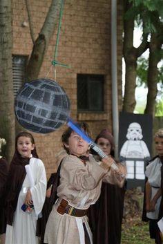 "Photo 20 of 82: Star Wars Lego / Birthday ""Jedi Nate's Star Wars adventure"" | Catch My Party"