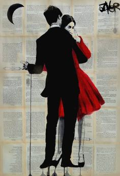 "Saatchi Art Artist Loui Jover; Drawing, ""true romance"" #art"