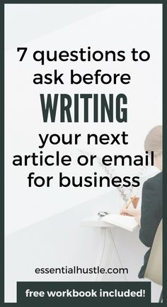 Your articles and emails don't have to stink, and they don't have to be a pain…