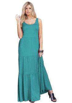 Running Free Animal Print Maxi Dress. Fashiontofigure.com | Curvy ...