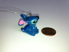 Cute little Stitch charm from Disney's Lilo and Stitch. Cute and fluffy!!!