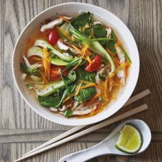 Spicy Asian Vegetable Soup
