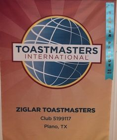 Ziglar Toastmasters- club 5199771 located in Plano, Texas U.S.A. Thank you to Manhal Shukayr for the banner picture.