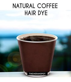 NATURAL COFFEE HAIR DYE