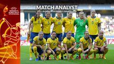 Match Analysis UEFA Women's EURO 2017: la Nazionale Svedese Femminile