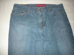 Levi's 518  Jeans Super Low Stretch Boot Cut Blue Womens Sz 9 #Levis #BootCut