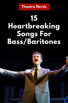 Bass & Baritone Audition Song Ideas...