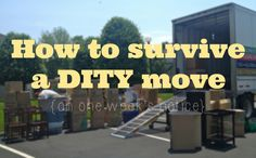 Reddy Or Knot : How to survive a DITY move on one week's notice Moving Day, Moving Tips, Packing To Move, Packing Tips, Planning A Move, Navy Life, Making Life Easier, Army Love, Military Life