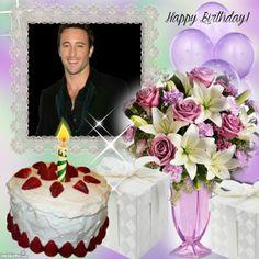 Happy Birthday Photos, Birthday Frames, Birthday Cake, Birthday Cakes, Happy Birthday Pics, Cake Birthday