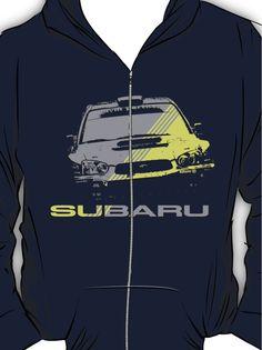 Subaru Impreza Hoodie (Zipper)