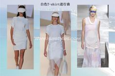 TREND TALK - WHITE T-SHIRT FOR SUMMER 1 White T-shirt, could not refuse it in summer heat! There will always be a classic, simple style matching every wearing in the summer, it is a white T-shirt. A white T-shirt does not need too much decoration, style can be short or long, wearing with a small shirt with flower patten or jeans, it can become the best summer fashion dress, her casual silhouetted against the sun in the summer, it is comfortable, clean, and very cool.