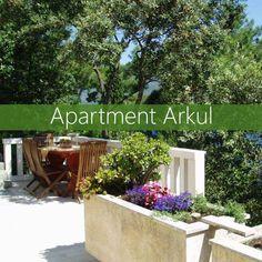apartments Segedin Korcula Apartments, Patio, Outdoor Decor, Plants, Home Decor, Homemade Home Decor, Yard, Terrace, Flora