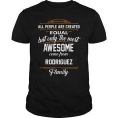 Awesome Tee RODRIGUEZ Name tee Shirts Shirts & Tees