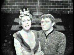 What Do The Simple Folk Do ? - Richard Burton & Julie Andrews in Camelot on The Ed Sullivan Show -1961