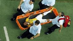 Neymar injured in Brazil World Cup win against Colombia