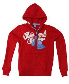 Contrasta con estilo.  Hoodie roja para este #verano. #RSPeople #wear # RooseveltAC #RSGuys #boys #Mèxico #ModaParaHombres
