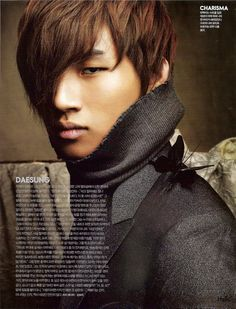 Daesung (대성) - from his D'scover album.