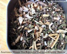 Adaptogen Herbal Tea Blend for Stress and Adrenal Health