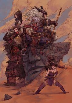 Goodbye Asura by milkyliu.deviantart.com on @deviantART