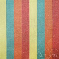 Tecido Patchwork Coats Fio Tinto  2400011 Cor-16011 Listras Verde/Laranja c/ 50 cmX1,40cm