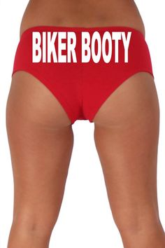 Women's Sexy Hot Booty Boy Shorts Biker Booty Block White Bold Style Type Lingerie