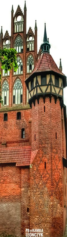 The Castle of the Teutonic Order in Malbork, located in the Polish town of Malbork, is the largest castle in the world measured by land area