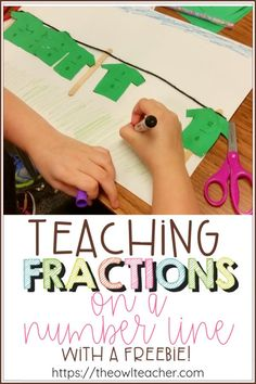 Hands-on activities in math? No way. Yes, way! Check out this hands-on fractions clothesline activity that will engage and excite your students!