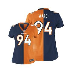 DeMarcus Ware Elite Jersey-80%OFF Nike Two Tone DeMarcus Ware Elite Jersey  at. Denver Broncos ... ff978d6fa