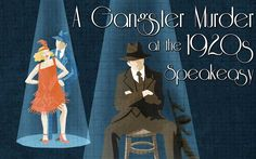 JOIN US LIVE to investigate a 1920's murder! May 27, 2017 in Copenhagen, Denmark, we will be kicking off the launch of our newest Roaring 20's murder mystery party investigation, A Gangster Murder at the 1920's Speakeasy! Don your flapper and gangster gear and meet us there!  #1920s #Roaring20s #flapper #gangster #events #copenhagen #denmark #murdermystery #murdermysteryparty #murdermysterygame