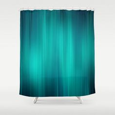 http://rubies.work/0929-emerald-pendant/ Teal Shower Curtain Turquoise Aqua Shades of by LoveThatTooMuch