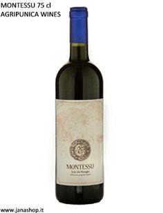 MONTESSU 75 cl  Anno 2011 - IGT Isola dei Nuraghi (RED WINE)