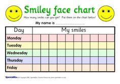 5-Day Reward Charts (SB551) - SparkleBox