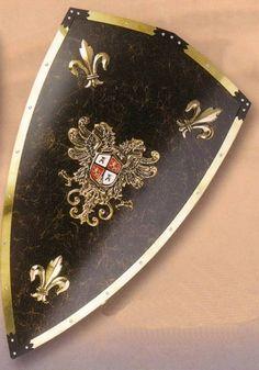 Charles v deluxe shield. Medieval shield