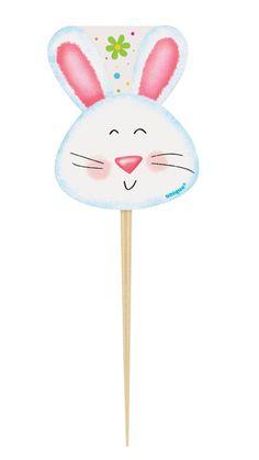 8 pics con il coniglietto pasquale su VegaooParty, negozio di articoli per feste. Scopri il maggior catalogo di addobbi e decorazioni per feste del web,  sempre al miglior prezzo!