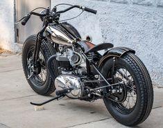 Triumph bobber, custom and cool!