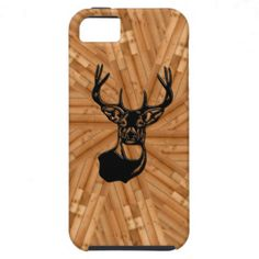 This amazing 3D look was created using a brand new design process that I developed myself. You won't find this case anywhere else (online or offline). #PhoneCases #iphone #hunting #deer #wood #Zazzle #3D