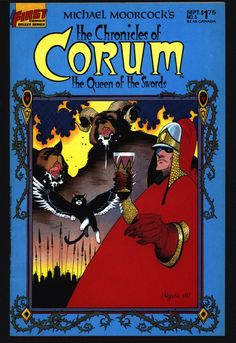 Chronicles of CORUM #5 Queen of Swords Michael Moorcock Mike Baron Butch Guice Mabden Sword Rulers & Sorcery Magick Fantasy Comic Book